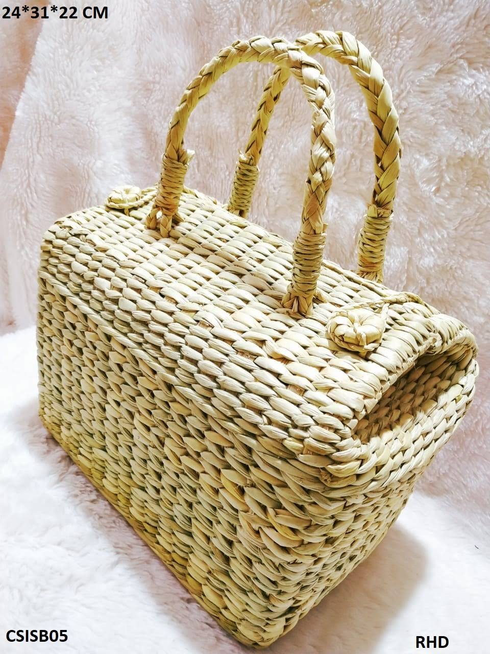 STRAW KONA BASKETS