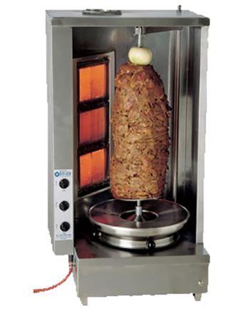 Shawarma Machine Single Rod Vaba Burner