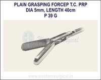 Fenestrated grasping forcep