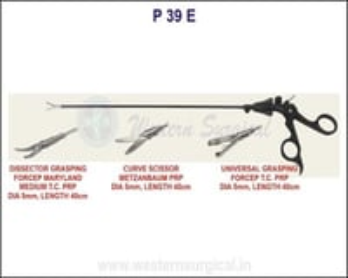 Curve scissor metzanbaum PRP,Dissector grasping forcep, Universal grasping forcep