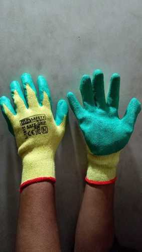 RIFA YELLOW GREEN GLOVES