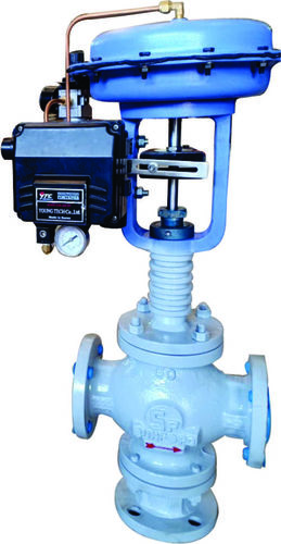 Control Valves with Positioner