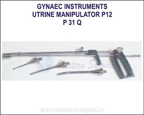 Utrine manipulator p12
