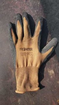 FRONTIER BROWN BLACK CUT RESISTANT GLOVES