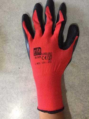 RIFA RED BLACK HAND GLOVES