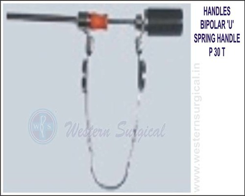 Bipolar U spring Handle