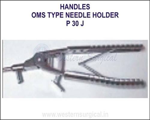 Oms type needle holder