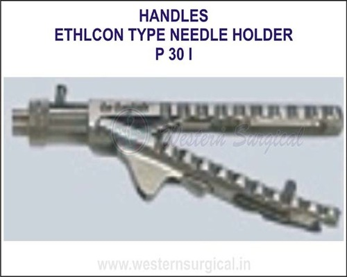 Ethlcon type needle holder