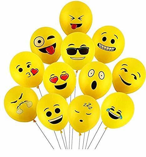 Emoji Face Expression Balloons