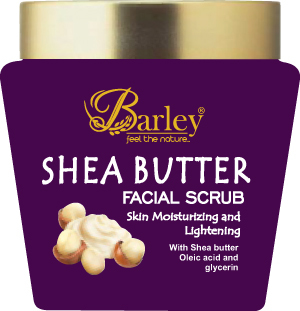 Barley Shea Butter Facial Scrub