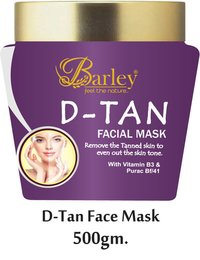 Barley D-Tan Face Mask