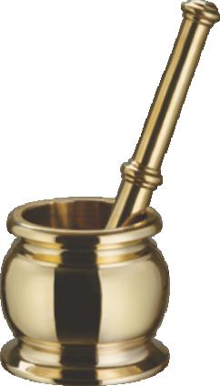 Brass Loti Mortar