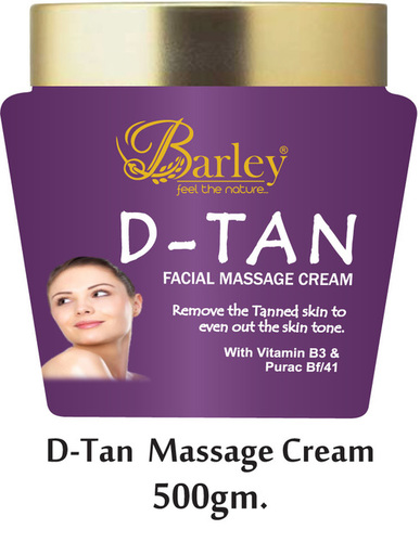 Barley D-Tan Facial Cream