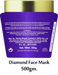 Barley Diamond Face Mask