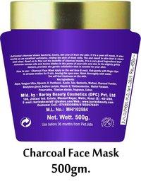 Barley Charcoal Face Mask