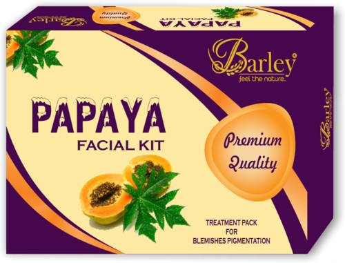 Barley Papaya Facial Kit