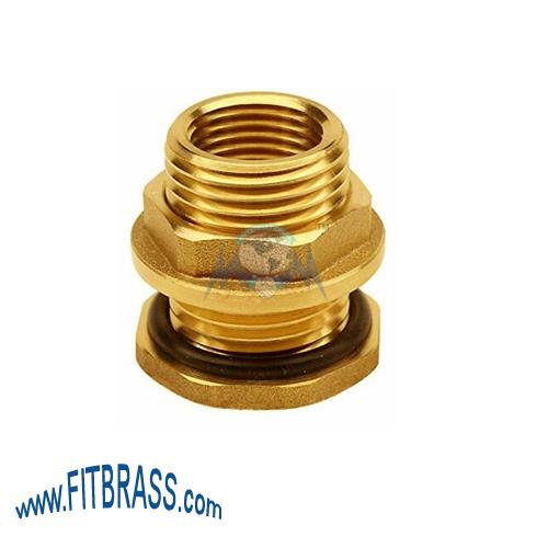 Brass Bulkhead Tank Fittings