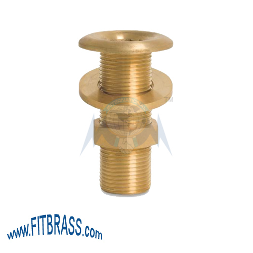 Brass Bulkhead Threaded Tank Fittings