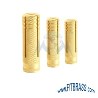 Brass Drop In Anchors