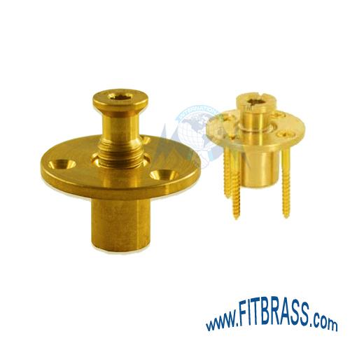 Brass Wood Deck Anchors