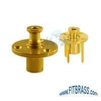 Brass Wood Deck Anchors