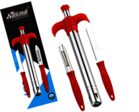 i20 Gas lighter With SS Knife and Peeler