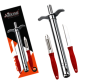 Eon Gas lighter With SS Knife and Peeler