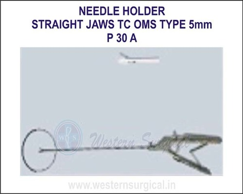 Straight jaws TC oms type 5mm