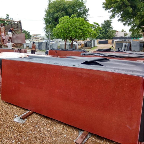 D Lakha Red Granite Slab