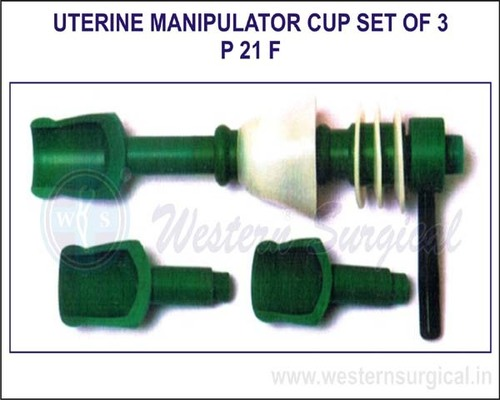 Uterine Manipulator Cup Set of 3