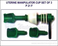 Uterine Manipulator Cup Set of 3