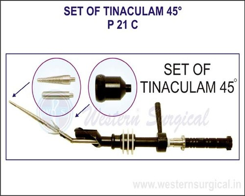 Set Of Tinaculam 45°