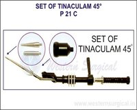 Set Of Tinaculam 45°