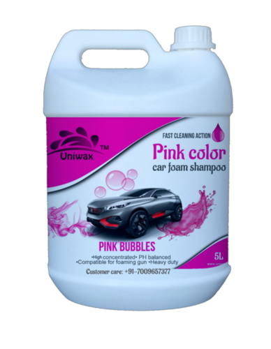 Car Color Foam Shampoo