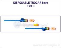 Disposable Trocar 5 mm