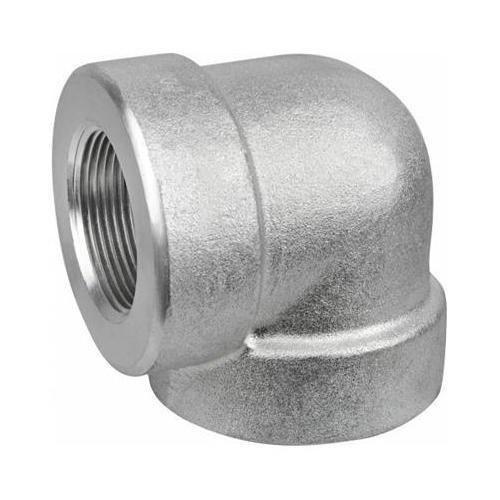 Stainless Steel Threaded Elbow 90 Degree