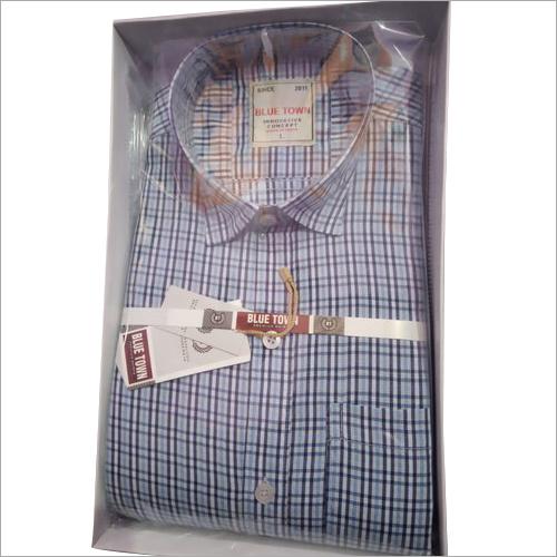 Mens Cotton Check Shirts