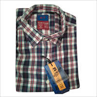 Mens Check Full Sleeve Shirt