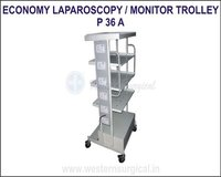 Economy Laparoscopy / Monitor Trolley