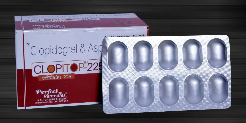 Aspirin 150 mg & Clopidogrel 75 mg