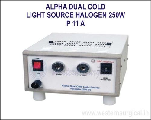Alpha Dual Cold Light Source Halogen