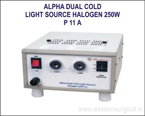 Alpha Dual Cold Light Source Halogen