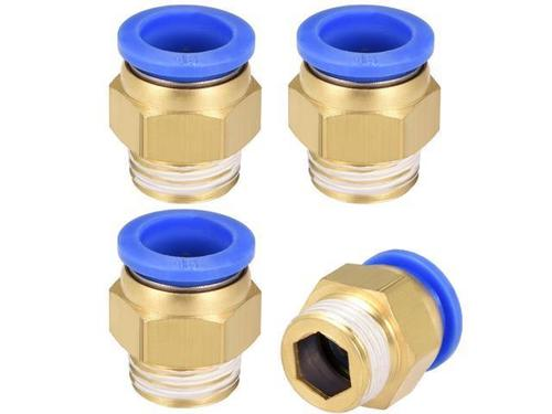 GPUC G Thread Pneumatic Brass Fittings With Cap