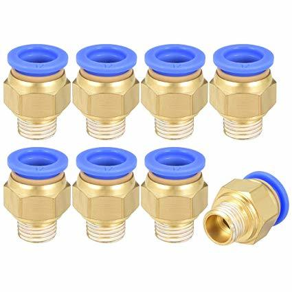 GPUT G Thread Pneumatic Brass Fittings With Cap