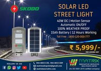 SKODO Integrated Solar Led Street Light