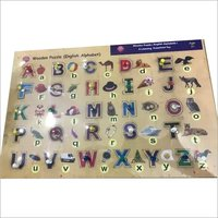 Wooden Puzzle(English Alphabet)