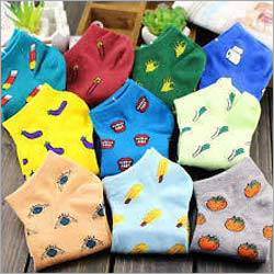 Ladies Printed Socks
