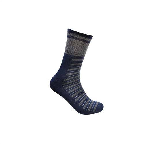 Mens Designer Terry Regular Socks