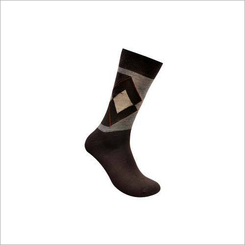 Mens Two Shaded Regular Socks