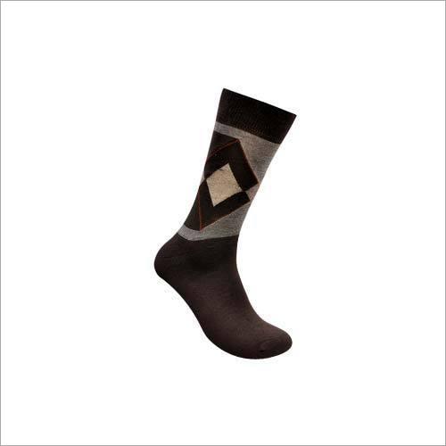 Mens Two Shaded Regular Socks
